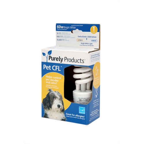 Purely Products Pet CFL 15W (60W) Light Bulb