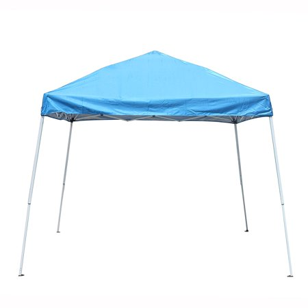 ALEKO Collapsible Gazebo - 8 x 8 Feet - Blue (Blue Lounge Cool Feet)