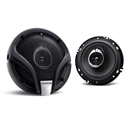 "Kenwood 6-1/2"" 270W Car Speaker, Flush Mount"
