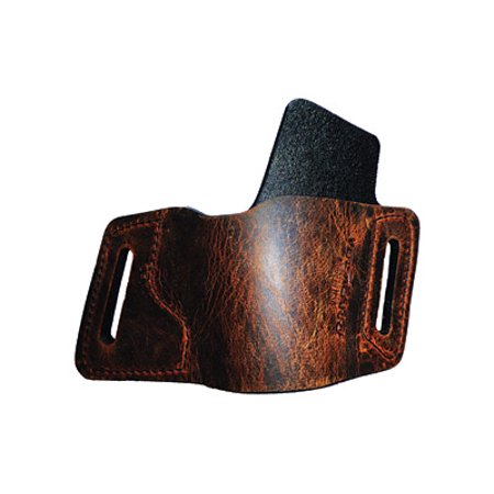 Hand 1911 Leather - Versa Carry Water Buffalo Protector OWB Holster, Fits 1911, Right Hand, Distressed Brown Leather WBOWB22