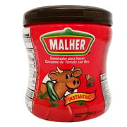 Malher Tomato Beef Bouillon 16 oz - Consome De Tomate y Res (Pack of 6)