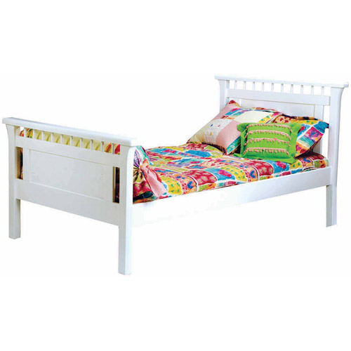 Bolton Bennington Twin Bed In White by Overstock