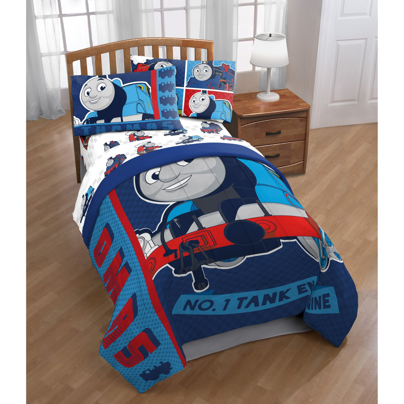 Thomas The Tank Engine Hot Rod Reversible Comforter by Mattel by Overstock