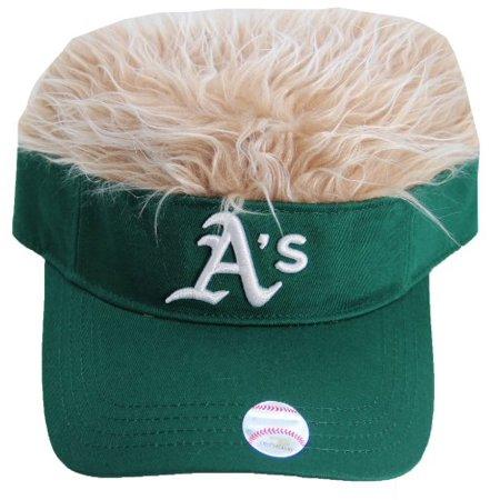 MLB Oakland A's Flair Hair Cap (Mlb Visor Cap)