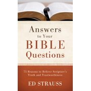 Answers to Your Bible Questions - eBook