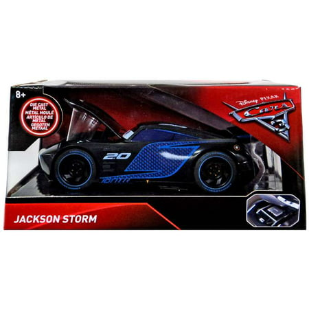 Disney cars cars 3 jackson storm diecast car jada toys for Three jackson toy