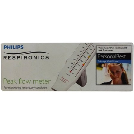2 Pack - Philips Respironics Personal Best Peak Full Range Flow Meter 1