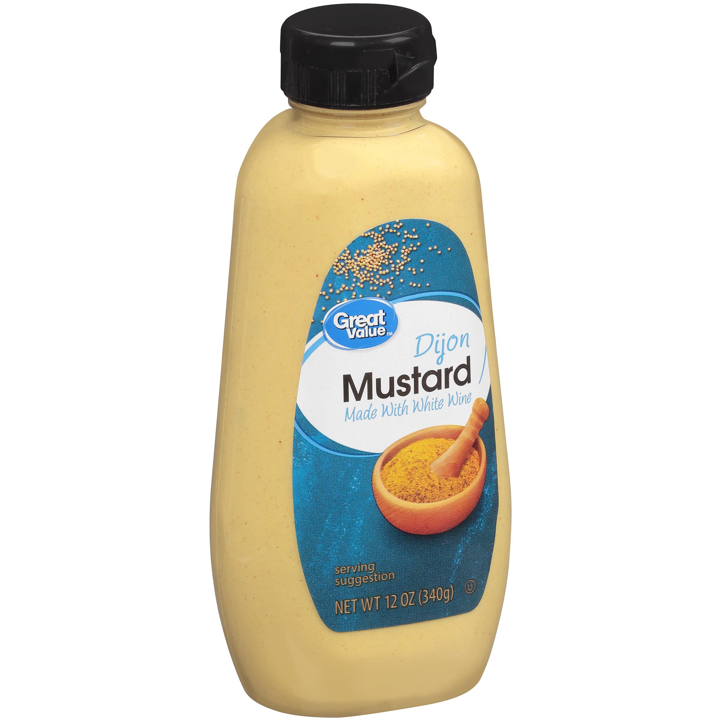 Great Value Dijon Mustard, 12 oz