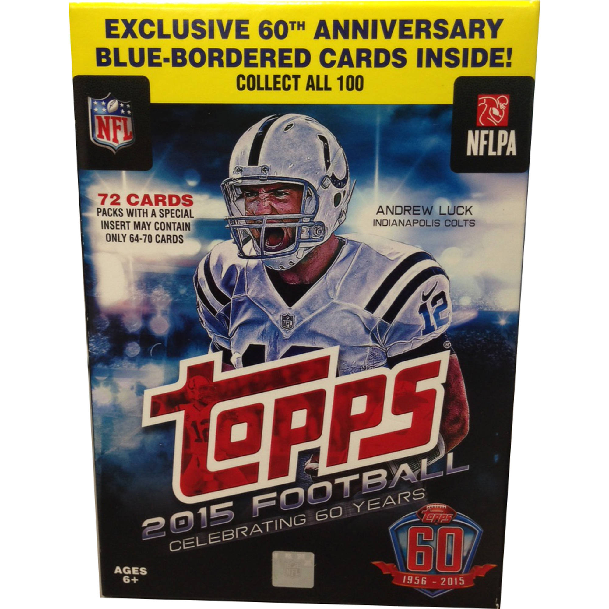 15 Topps Football Wm Hanger Box