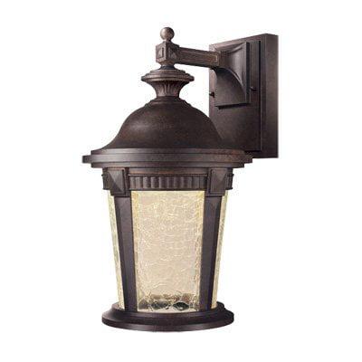 Designers Fountain Outdoor Whitmore LED21731 Wall Lantern - Mystic Bronze