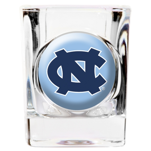 North Carolina Tar Heels Official NCAA 2 fl. oz. Square Shot Glass by Great American Products