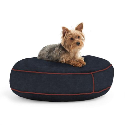 "WufFuf Round Pet Bed, 24"" Diameter"