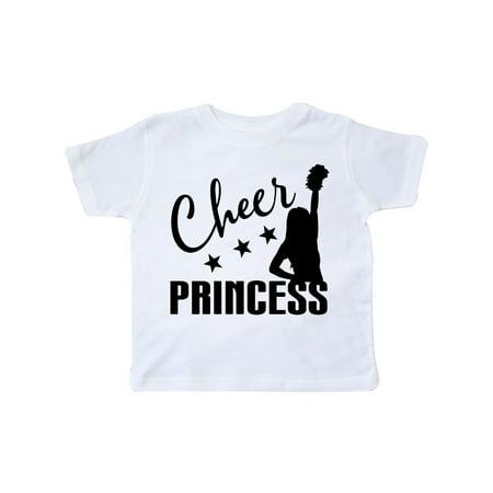 Cheer Princess Cheerleading Gift Toddler T-Shirt - Toddler Cheerleading Uniforms
