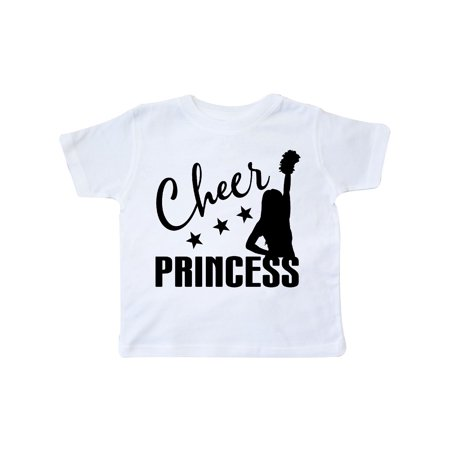 Cheer Princess Cheerleading Gift Toddler T-Shirt](Children's Cheerleading Uniforms)