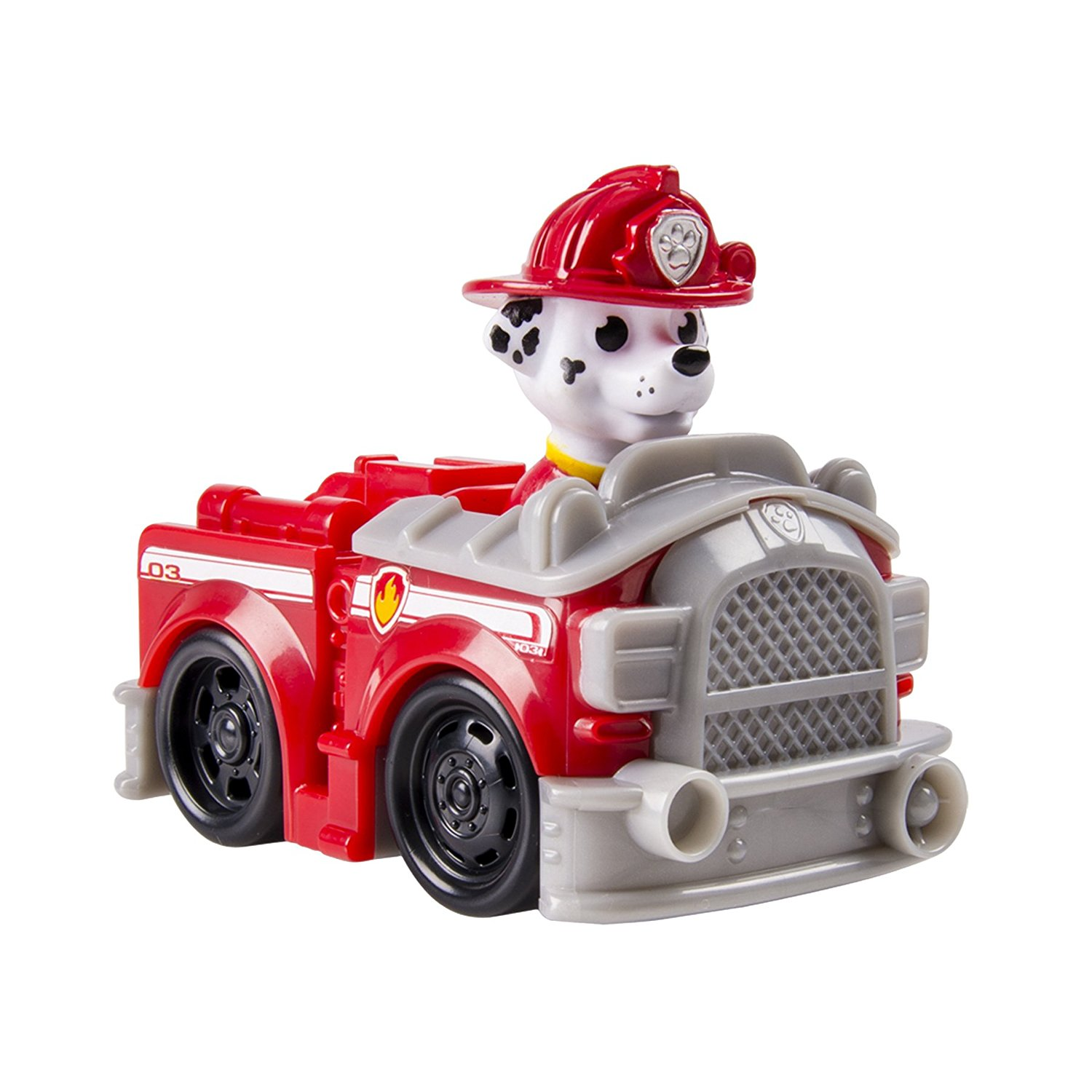 Paw Patrol Rescue Racers - Roadster - Marshall's Fire Truck