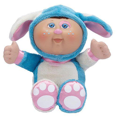Jakks Cabbage Patch Kids *Cuties* Boy Doll in Blue Puppy Costume - NEW