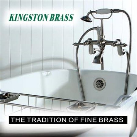 Kingston Brass KS8231CTL Continental Vessel Sink Faucet Polished Chrom