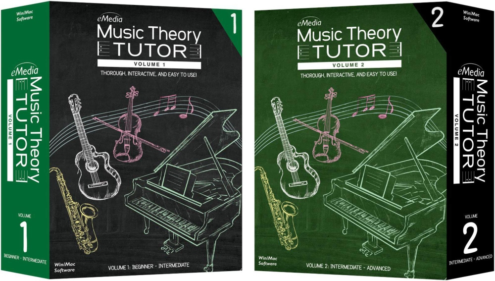 eMedia Music Theory Tutor Complete by Emedia Music