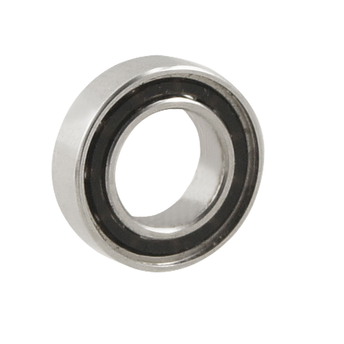 Unique Bargains 7mm x 4mm x 2mm Metal Sealed Deep Groove Roller Bearings