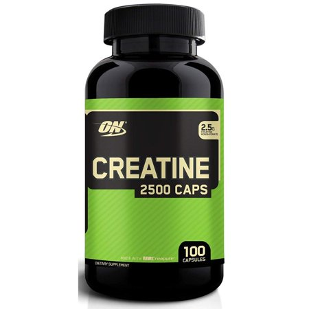 Optimum Nutrition Creatine 2500 Capsules, 100 Ct ()
