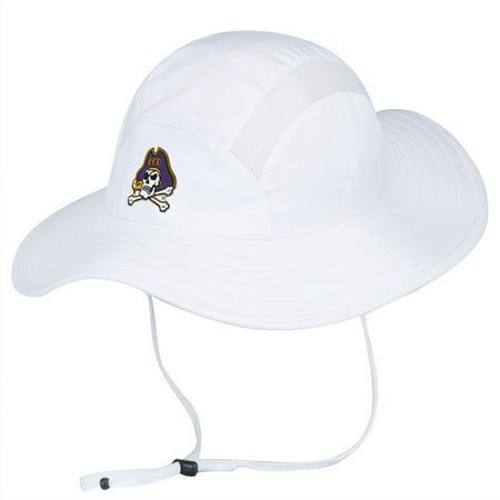 da7ce63aefda2 East Carolina Pirates Adidas Sideline UV Protective Climalite Safari Hat -  Walmart.com