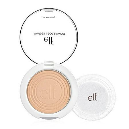 e.l.f. Flawless Face Powder, Ivory, 0.18 oz (Dead White Face Powder)