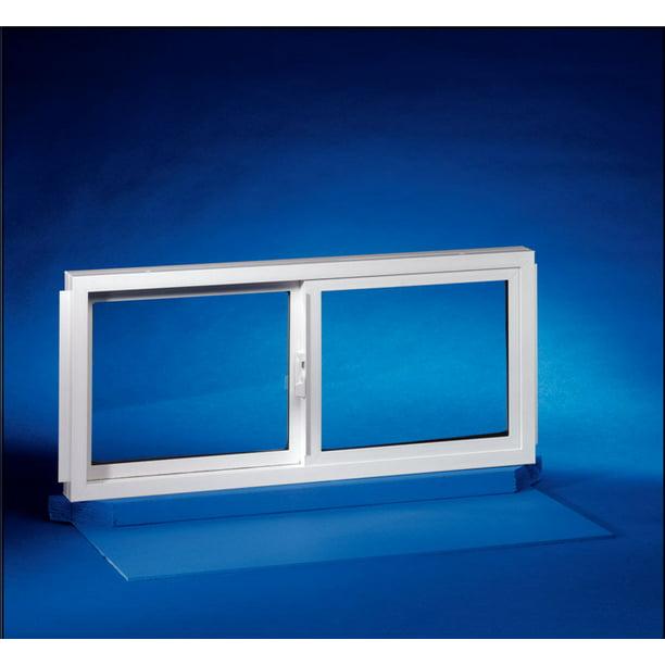 Double Slider Basement Window, 32 X 12 Basement Window