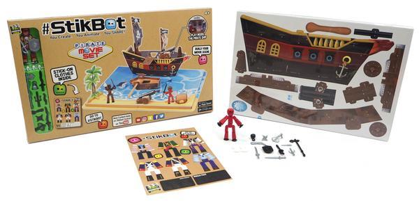 Stikbot Movie Set Pirate Scene by