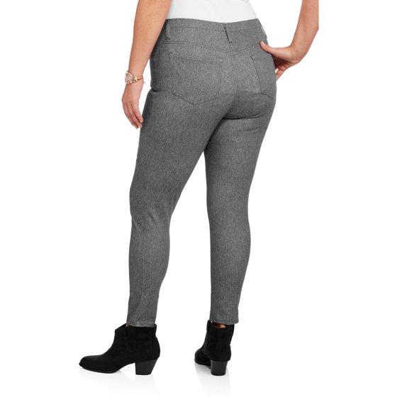 efc93d81c55 Faded Glory - Women s Plus-Size Jegging - Walmart.com