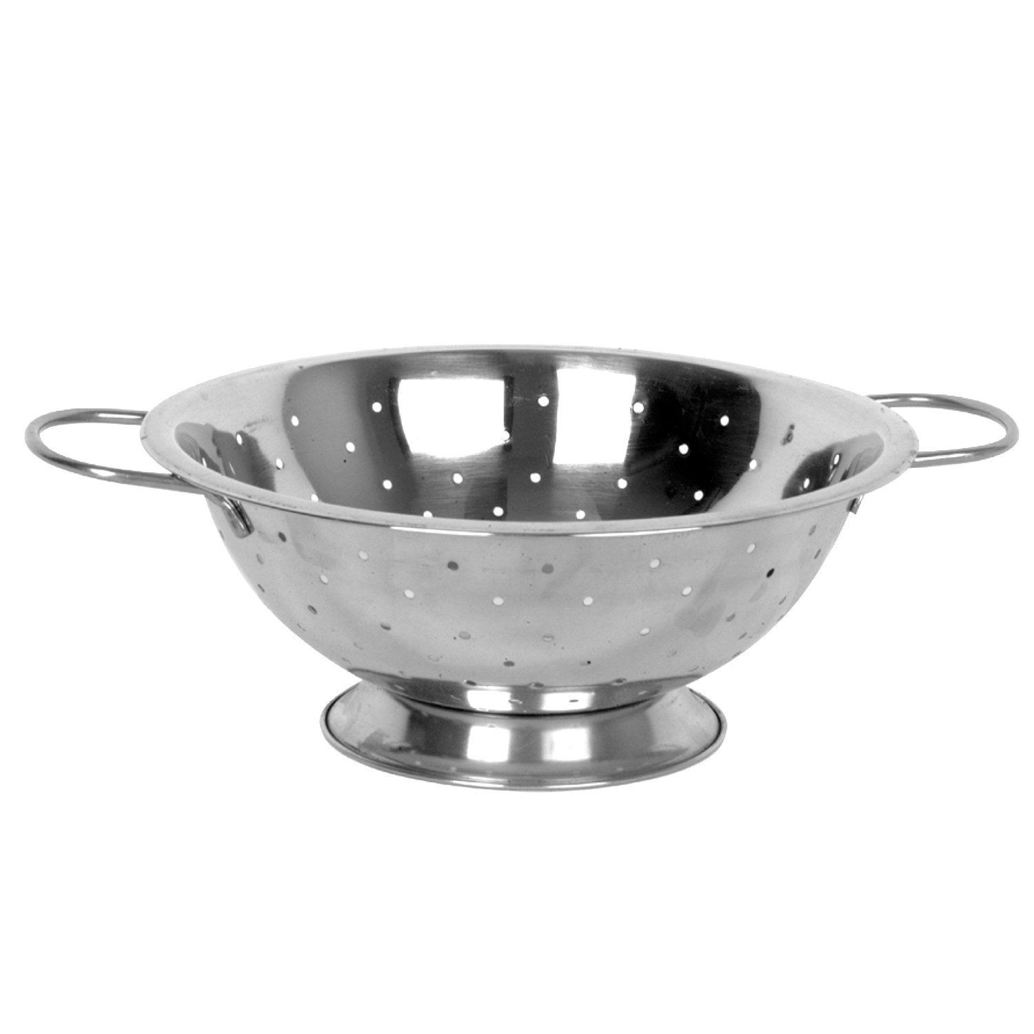 é 3 Quart Stainless Steel Colander, USA, Brand Excellant by