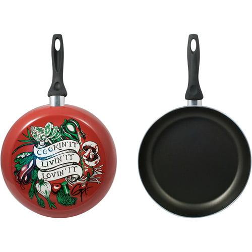 "Guy Fieri Decorated 12"" Fry Pan, Cookin' It"