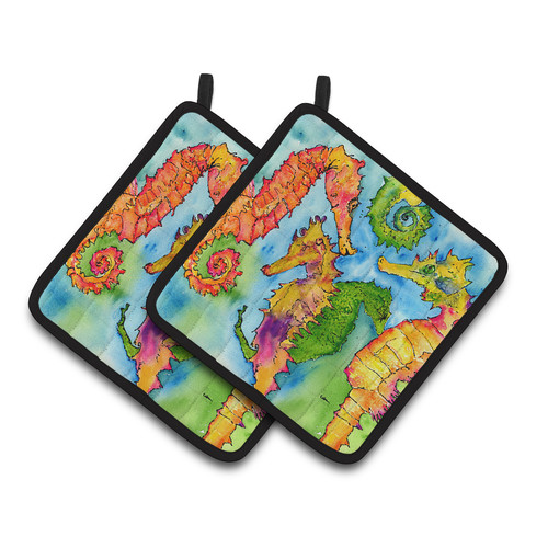 Seahorse Pair of Pot Holders 8546PTHD