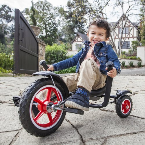 Mobo Tot Rockabilly 12 in Toddler Three Wheeled Cruiser Recumbent Bike