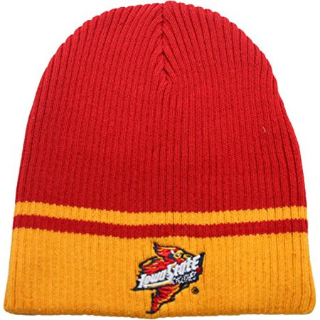 NCAA The Game Iowa State Cyclones Youth Kids Cuffless Knit Beanie - Iowa Cyclones