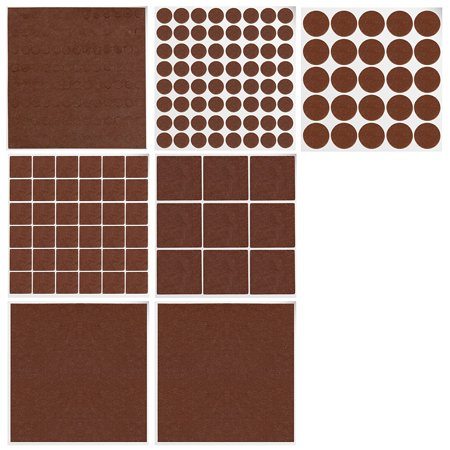 Gimars Furniture Pads 200 piece Felt Pads Furniture Feet – BEST wood floor protectors. Protect Your Hardwood & Laminate Flooring, Assorted