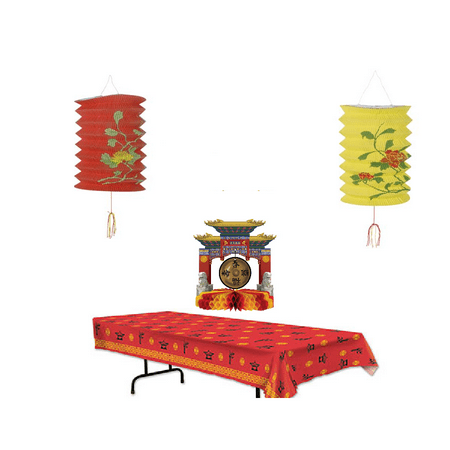 Asian Party Decoration Pack - Asian Decorations