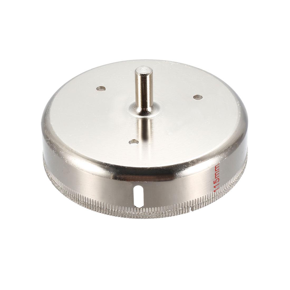 6-20mm Diamond Coated Drill Bit Hole Saw Kit Glass Cutter Tip Tools Accessories