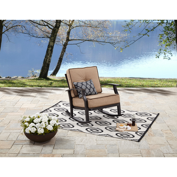 Better Homes and Gardens Carter Hills Outdoor Rocking Chair