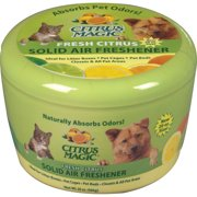 Citrus Magic Pet 20-Ounce Solid Air Freshener, Fresh Citrus