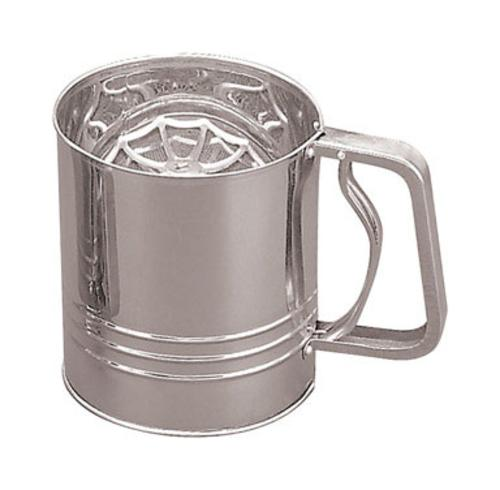 Fox Run 4654 Flour Sifter, 4-Cup, Stainless Steel by Fox Run