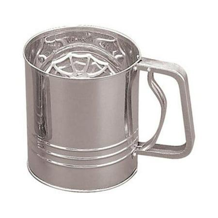 Fox Run 4654 Flour Sifter, 4-Cup, Stainless -