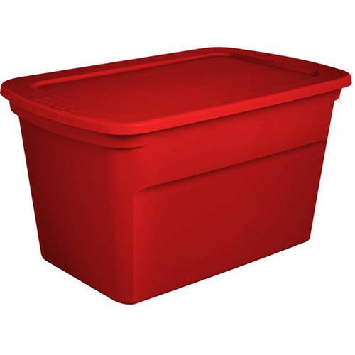Sterilite 30 Gallon Tote Box - Red