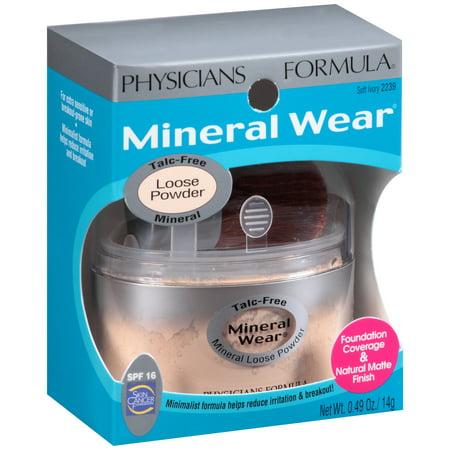 Mineral Wear® Soft Ivory Mineral Loose Powder SPF 16 0.49 oz. Jar (Loose Powder Jar)