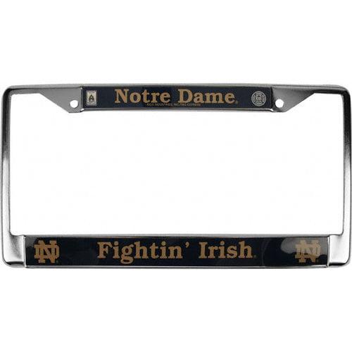 NCAA - Notre Dame Fighting Irish Chrome License Plate Frame