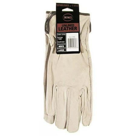 Premium Grain Leather - Boss Gloves 4068L Large Premium Grain Unlined Leather Gloves