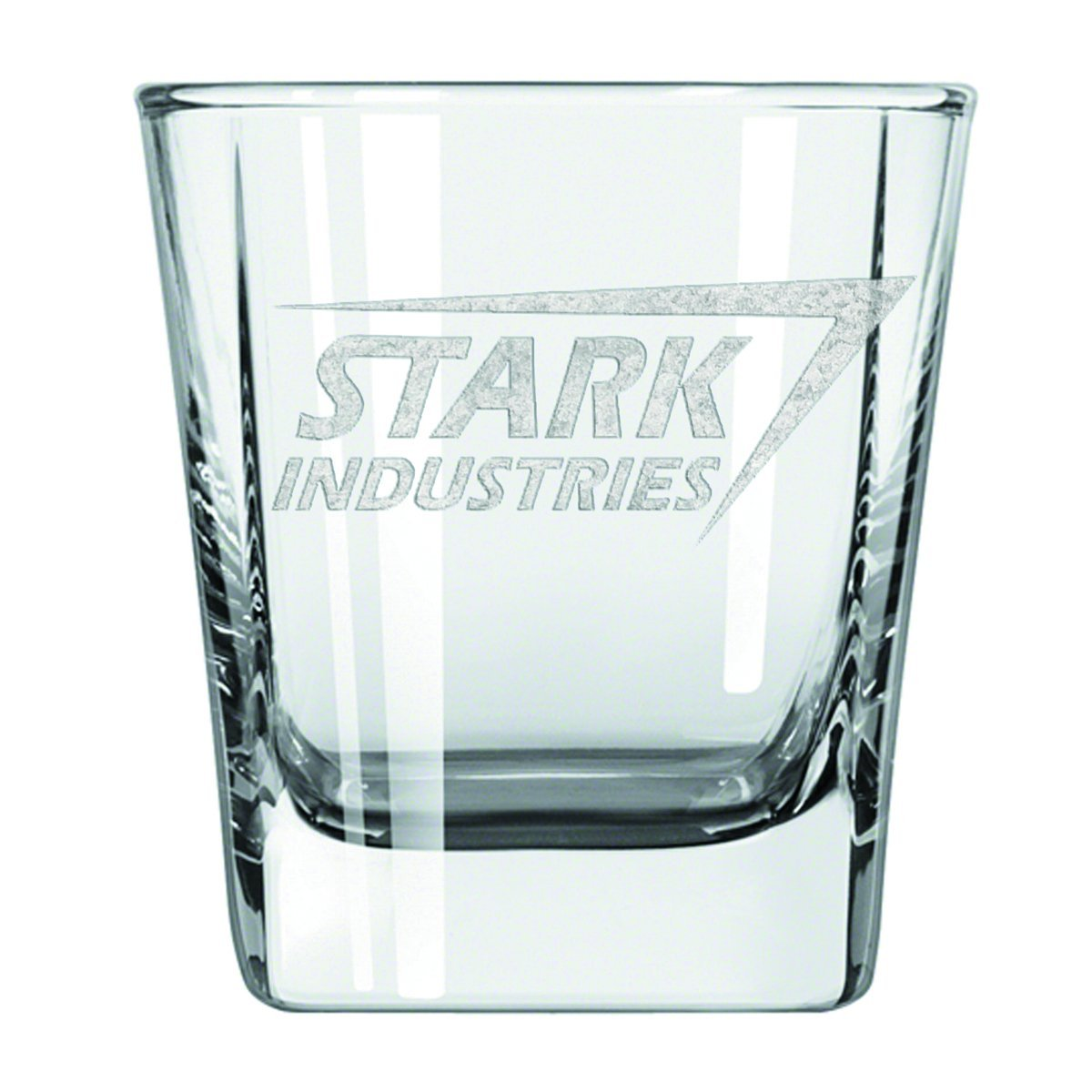 Surreal Entertainment Stark Industries Laser Etched Glass Tumbler (2 Pack)