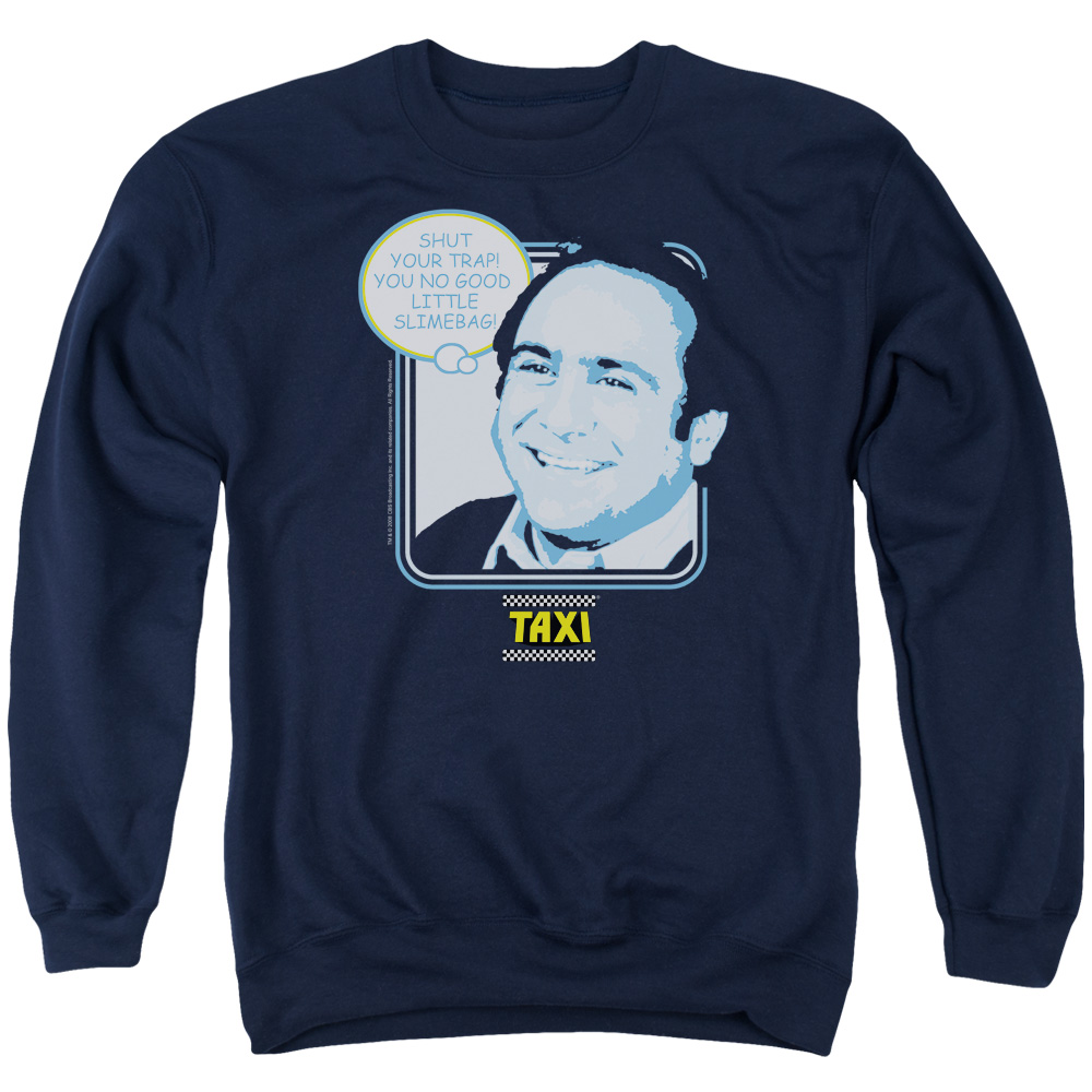 Taxi Shut Your Trap Mens Crewneck Sweatshirt