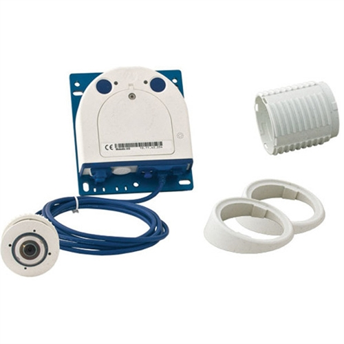 MOBOTIX S15D FlexMount Hemispheric Network Camera Complete Set 1 w/ Single Day Sensor and 12mm Fisheye Lens