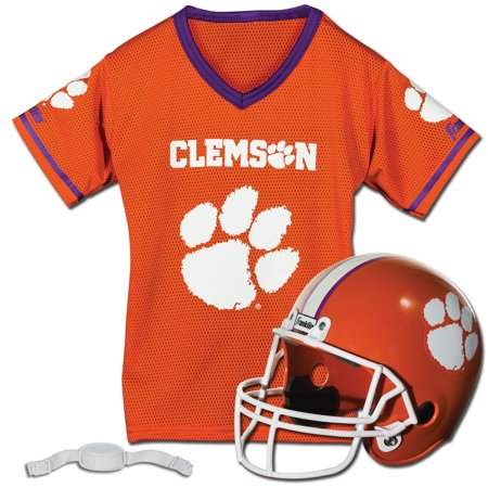 Clemson Tigers Franklin Sports Youth Helmet and Jersey Set - No Size Louisiana State Tigers Lsu Helmet