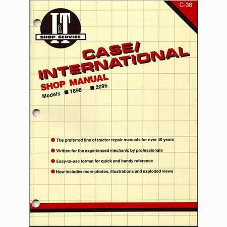 I&t Shop Manual Case - I&T Shop Manual , New, Case IH, Case